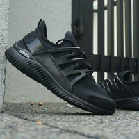 sepatu casual running adidas alphabounce full hitam man cowok 36-44