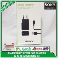 Charger Sony Xperia Z2 Z3 Z4 Z5 UCH10 QUALCOMM 2.0 Fast Charging