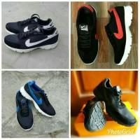 Sepatu Kets Nike Replika Murah Pria/Wanita Hitam 39-43