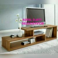 Bufet cabinet tempat tv rak buku minimalis jati jepara