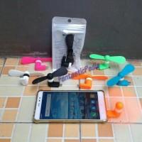kipas angin otg micro usb on the go portable mini fan hp android phone