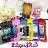 waterproof medium pouch bag case hp sarung anti air universal water
