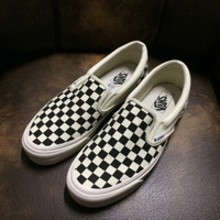 vans slipon vault OG checkerboard