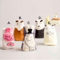 Kaos Kaki Anak Cute Animal Sock Nichola 5 Pilihan Motif Antislip