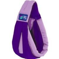 Gendongan Bayi Baba Slings Two-Tone - Lilac Purple