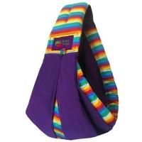 Gendongan Bayi Baba Slings Stripe - Rainbow Purple
