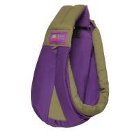 Gendongan Bayi Baba Slings Two-Tone - Purple Khaki
