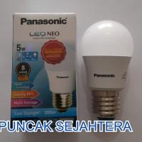 (Diskon) Lampu LED Panasonic 5w 5 watt NEO
