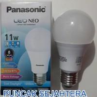 (Diskon) Lampu LED Panasonic 11w 11 watt NEO