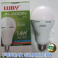 (Diskon) Lampu LED emergency LUBY Aladdin 14w 14 watt