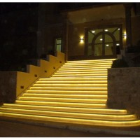 Lampu Strip / Rope LED 5050 Warna Kuning/ Warmwhite SMD 5050 IP44
