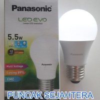 (Sale) Lampu LED Panasonic 5w 5 watt EVO