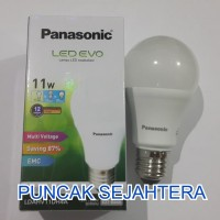 (Murah) Lampu LED Panasonic 11w 11 watt EVO