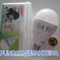 (Murah) Lampu LED Luby emergency 12w 12 watt