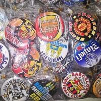 (Sale) souvenir gantungan kunc pini club bola