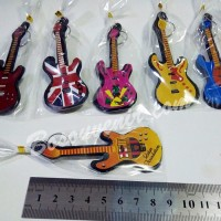 (Murah) Souvenir Gantungan Kunci Gitar