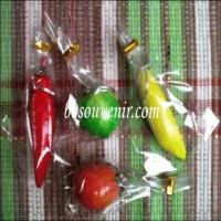 (Dijamin) Souvenir ganci buah