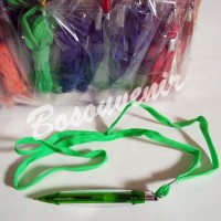 (Murah) souvenir pulpen tali