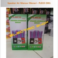 promo Speaker Air Mancur USB/SD Card + FM Radio - FLECO Z301