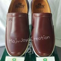Sepatu GATS Kulit Casual Pria Keren Original Murah PU 7706 Brown