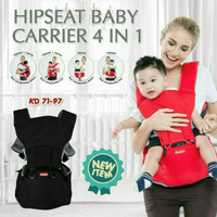 Kiddy Hipseat Baby Carrier 4in1
