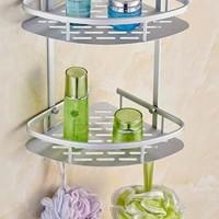 Produk Pilihan 271 Rak Sudut Dinding Toilet Aluminium Size 22 X29,5X