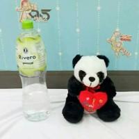 (Dijamin) Boneka Panda Love S Imut bulu halus import
