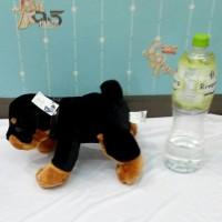 (Murah) Boneka Anjing Bulldog Bulu Import Mirip Dog Asli