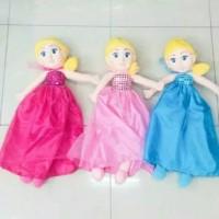 (Murah) Boneka Elsa Frozen Muka Karet Import