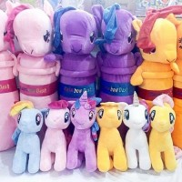 (Murah) Boneka Little Pony Kuda Poni Sedang M