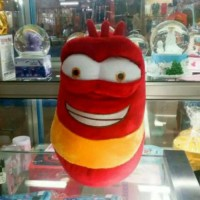 (Dijamin) Boneka Larva Merah