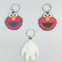 (Diskon) ungan kunci / Tas Elmo & Big Hero 6 Import