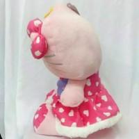 (Sale) Boneka Hello Kitty Bunga Dress Love