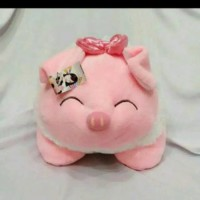 (Diskon) Boneka Babi Cotton S Babi Senyum Baring