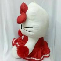 (Dijamin) Boneka Hello Kitty Cheerleader Merah Besar