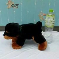 (Dijamin) Boneka Anjing Bulldog Besar Bulu Import Mirip Dog Asli