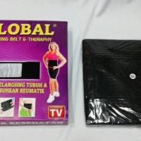 (Diskon) Slimming Belt & Terapi Sabuk Pelangsing Perut Panas Dewasa