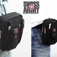 Case tas pinggang hp swiss army gear outdoor sport hiking armband 5,5