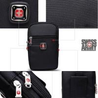 tas pinggang waist bag travel case tablet 7 inch sarung hp carabiner