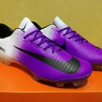 Sepatu Bola Soccer Nike Mercurial Vapor XI Purple White - FG