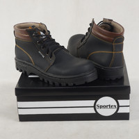 safety shoes khusus size 44 & 45 type black brown