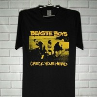 Kaos Musik Band Beastie Boys - Built up tanpa jaitan samping