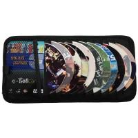 aksesoris mobil CD Holder Polos black KLASIK MODERN