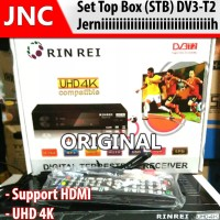 Jernih STB Rin Rei Sky Set Top Box Tv Digital DV3 T2 ORIGINAL I DVB