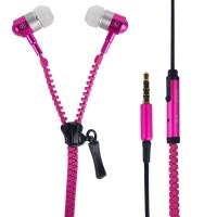FJ055 - Zipper Earphone Zipper Headphone Zipper Handsfr Promo