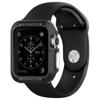 Spigen Apple Watch Case Rugged Armor (38mm) - Black