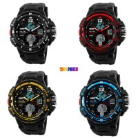 Jam Tangan Pria SKMEI Sport Analog LED Watch Water Resist 50m - AD1148