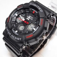 jam tangan digitec Dg2032t sport double time original 100%