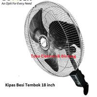 Kipas Angin Dinding Tornado besi 18 inch SEKAI HWN 1857 wall fan besi