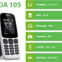 NOKIA 105 DUAL SIM (NEW)-RESMI NOKIA